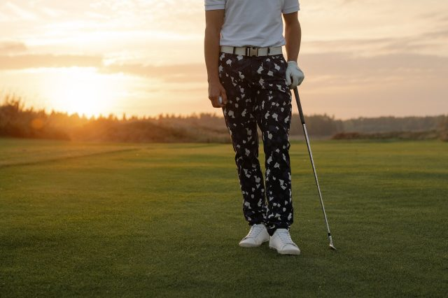 Golf and Sunset